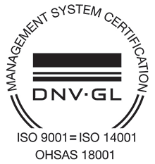 Management System certification - DVN GL - ISO 9001 = ISO 14001, OHSAS 18001